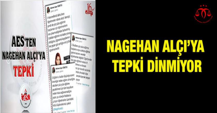 Nagehan Alçı'ya Tepki Dinmiyor